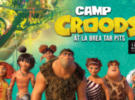 Tar Pits features Camp Croods