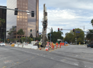 Subway work expands near Wilshire and La Cienega