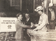 Vintage: Wilshire subway project gets underway