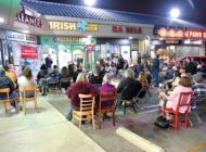 Comedians stand up for local businesses