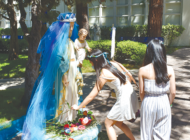 Immaculate celebrates 100th Mary's Day