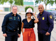 Raman discusses wildfire safety with LAFD