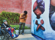 'King Chad' Black Panther mural moved to CHLA