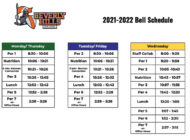 BHHS has new bell schedule for 2021-22