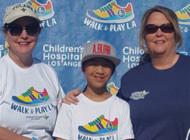 Walk and Play L.A. at Home  supports Children's Hospital