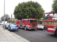 Fire spreads through attic in building on Melrose Avenue