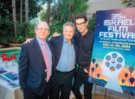 Jewish dignitaries, leaders attend festival reception