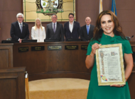 Council honors Rotary president