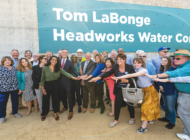 LaBonge recognized at Headworks Water Complex