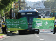 Metro boosts service with new bus-only lanes onAlvarado