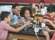Music superstar gives boost to LAUSD robotics programs