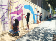 Mural makes progress at Dayton Heights Elementary
