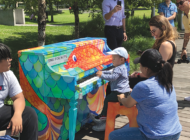Sing for Hope Pianos debut at performing arts center