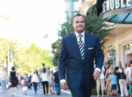 Running with Rick Caruso