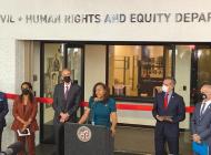 L.A. Civil Rights department celebrates new home