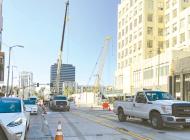 Subway work prompts lane closures at Wilshire/La Brea