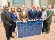 City leaders celebrate program to expand solar energy use